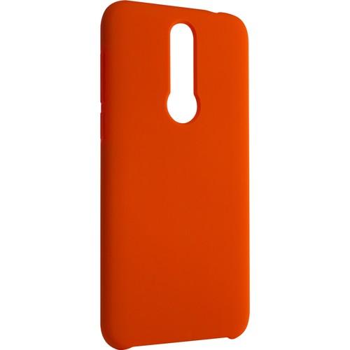 Meizu X8 Koruyucu Silikon Kılıf Red