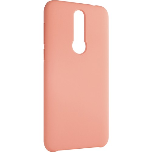 Meizu X8 Koruyucu Silikon Kılıf Pink
