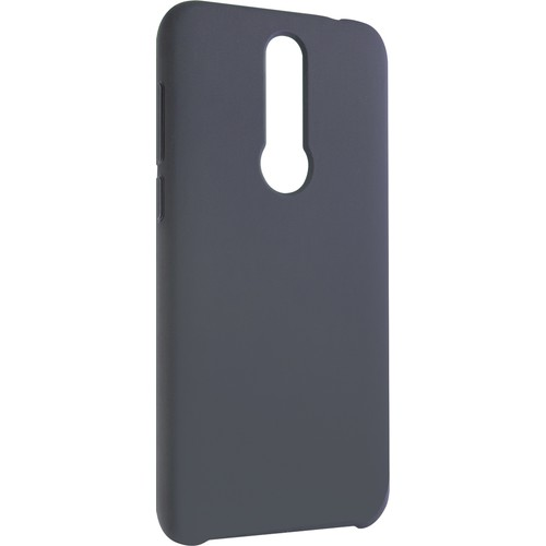 Meizu X8 Koruyucu Silikon Kılıf Dark Blue