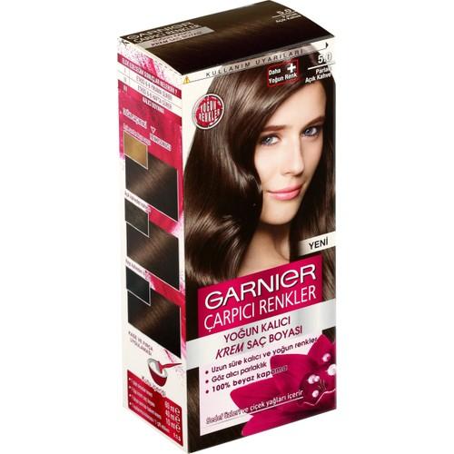 Garnier çarpıcı Renkler 50 Parlak Açık Kahve Saç Boyası Fiyatı