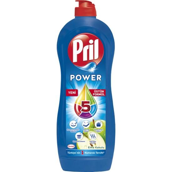 Pril Power Elma Kokulu Sıvı Bulaşık Deterjanı 725 ml