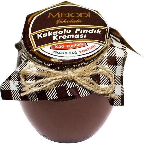 Melodi Çikolata Kakaolu Fındık Kreması 400 gr