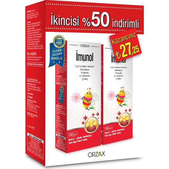 İmunol Şurup 150 ml Kofre 2 (İkincisi %50 İndirimli)