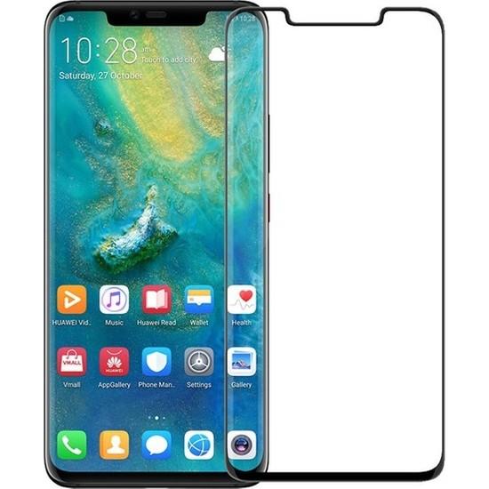 Jopus Huawei Mate 20 Pro 5D Nano Tam Kaplayan Ekran Koruyucu