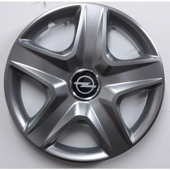 """Sjs Opel Corsa D 14"""" Çelik Jant Görünümlü Kırılmaz Esnek Jant Kapağı Takımı"""