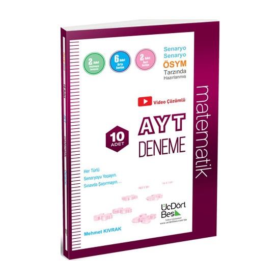 AYT Video Çözümlü 10 Matematik Denemesi