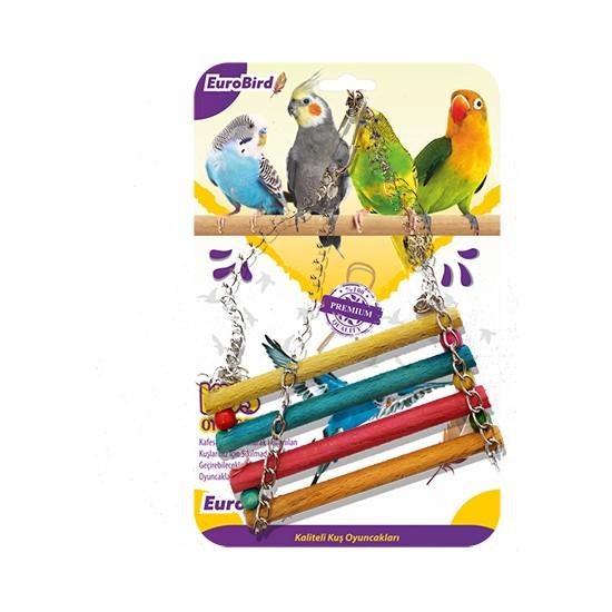 Eurobird Kuş Oyuncağı Renkli Sal Salıncak (ky10)