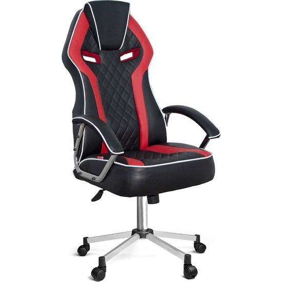 Ofisin Hazır Optimus Oyuncu Koltuğu Kırmızı