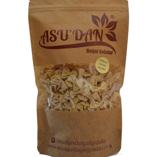 Asudan Doğal Gıdalar Zerdeçallı Papyon Makarna 300gr