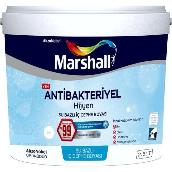 Marshall Antibakteriyel Hijyen Silinebilir İç Cephe Boyası 2.5Lt
