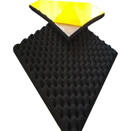 Bant Marketim 60 Dns Yanmaz Yapışkanlı Yumurta Akustik Sünger 50Cm X 50Cm