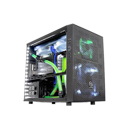 Thermaltake Core X1 Mini-ITX Full Modüler Pencereli Cube Kasa (CA-1D6-00S1WN-00)