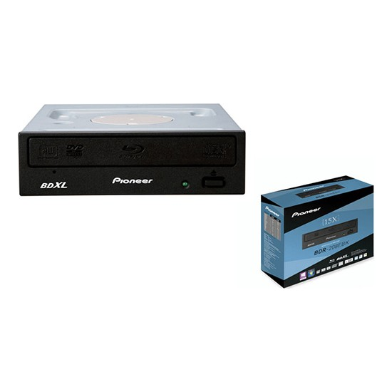 Pioneer BDR-208EBK (BD-R3) 15x Blu-Ray 128GB Multilayer Optik Yazıcı
