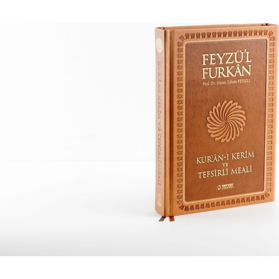 Feyzü'l Furkan Kur'an-ı Kerim ve Tefsirli Meali - Büyük Boy - Mushaf ve Meal - Taba