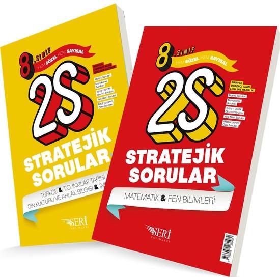 8. Sınıf Sayısal ve Sözel 2S Stratejik Sorular