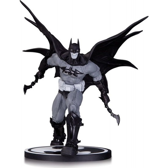 Dc Collectibles Batman Black And White Batman By Carlos D'Anda Statue