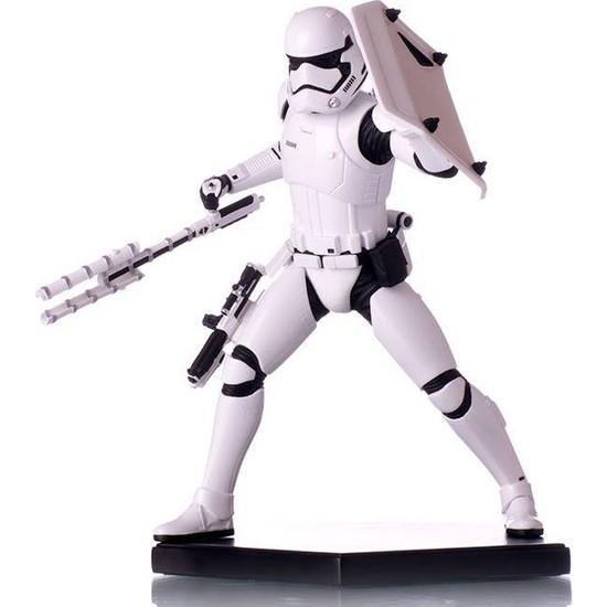 Iron Studios Star Wars Riot Control Stromtrooper Art Scale Statue