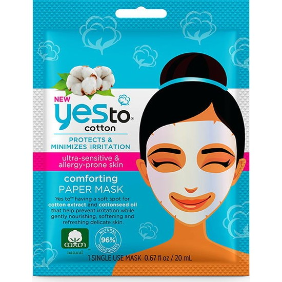 Yes To Cotton Comforting Paper Mask 20 ml