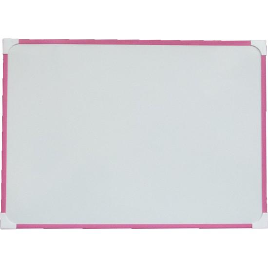 Neon Pembe Çerçeve Duvara Monte Yazı Tahtası 60X90 cm