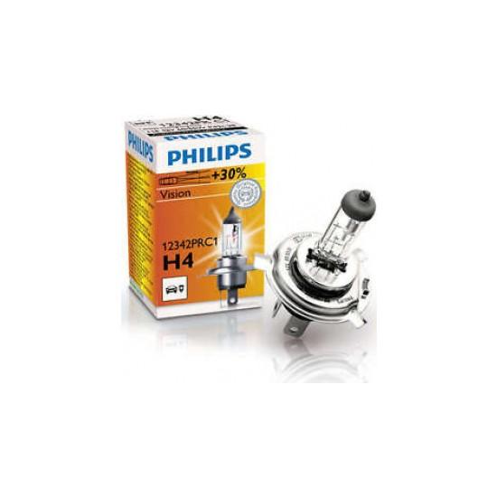 Philips Ampul H4 60/55W 30% Fazla Işık