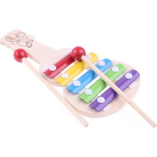 Kaikai Toy Ksilofon Çocuk Müzik Aleti Selefon