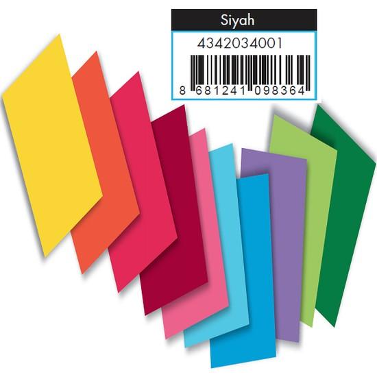 Adel Fon Kartonu Siyah 50X70 Cm 100 Lü (1 Paket 100 Adet)