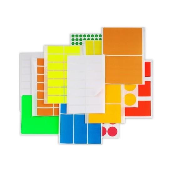 Platin Okul-Ofis Etiketi 8,5 X 19,20 Mm 10 Lu Pe-118 (1 Paket 10 Adet)