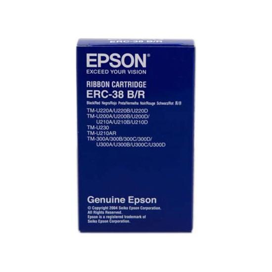 Epson ERC-38/C43S015376 Kırmızı-Siyah Şerit