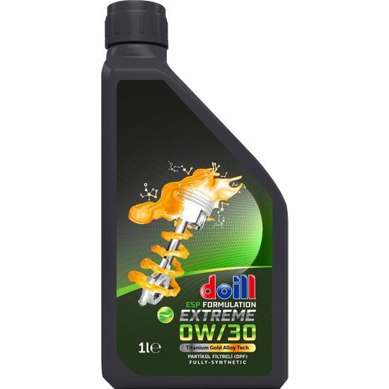 Doill 0W30 Dpf Tam Sentetik Apı Sn/Cf Acea C3 Dizel Partikül Filtre 1 lt