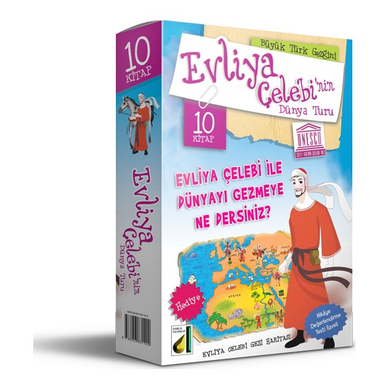 Evliya Çelebi'nin Dünya Turu (10 Kitap Set)