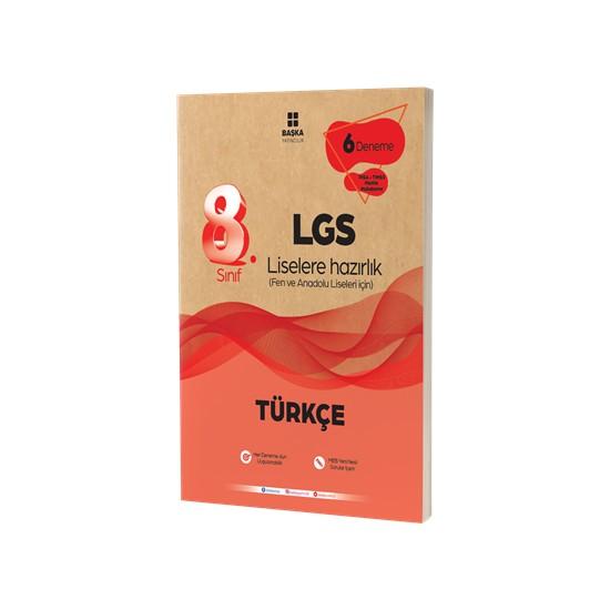 Başka Yayıncılık 8. Sınıf Lgs Türkçe 6 Lı Deneme