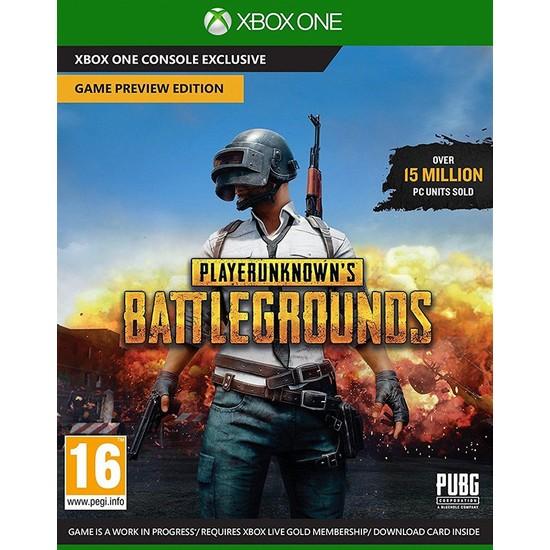 Microsoft Xbox One Playerunknowns Battleground Kutu Oyun Jsg-00018