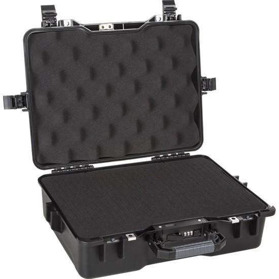 Mano Mtc 330C Siyah - Yumurta Sünger + Kare Lazer Kesim Süngerli Tough Case Pro Takım Çantası