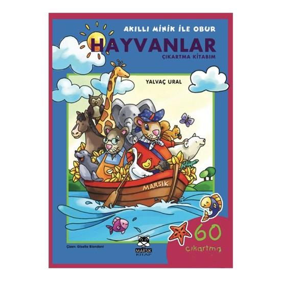 Hayvanlar Çıkartma Kitabım-Yalvaç Ural