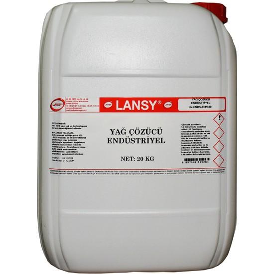 Lansy Yağ Çözücü Endüstriyel 20 kg
