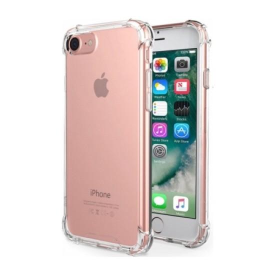 Zengin Çarşım Apple iPhone 6/6S Ultra İnce Şeffaf Airbag Anti Şok Silikon Kılıf - Şeffaf