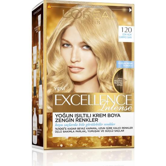 L'Oréal Paris Excellence Intense Saç Boyası 120 Çok Açık Çarpıcı Sarı