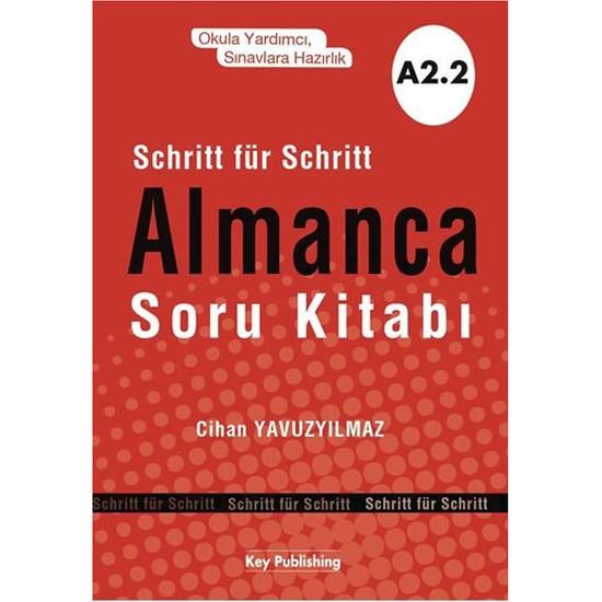 Almanca Soru Kitabı A2 2 - Cihan Yavuzyılmaz