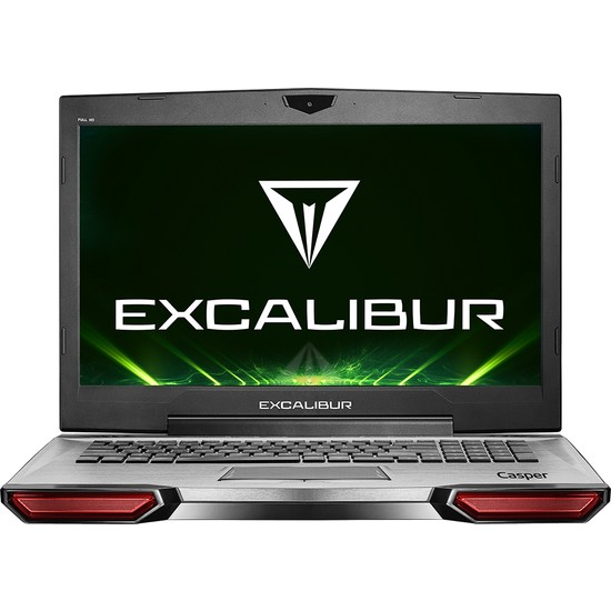 "Casper Excalibur G850.8750-81G0A Intel Core i7 8750H 16GB 1TB + 120GB SSD GTX1050 Windows 10 Home 17.3"" FHD Taşınabilir Bilgisayar"