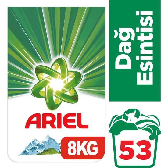 Ariel 8 kg Toz Çamaşır Deterjanı Dağ Esintisi Beyazlar İçin