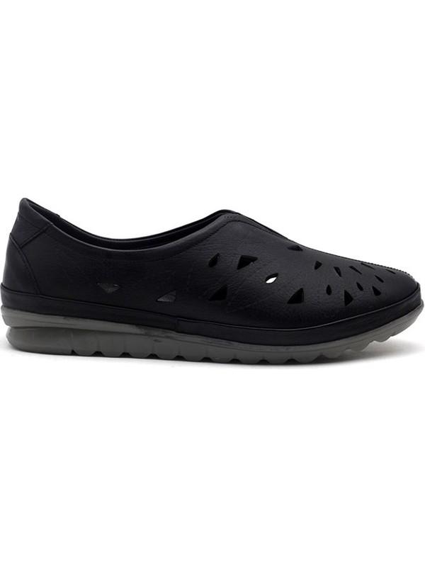 Evida 0115 Hakiki Deri Kadın Günlük Ayakkabı