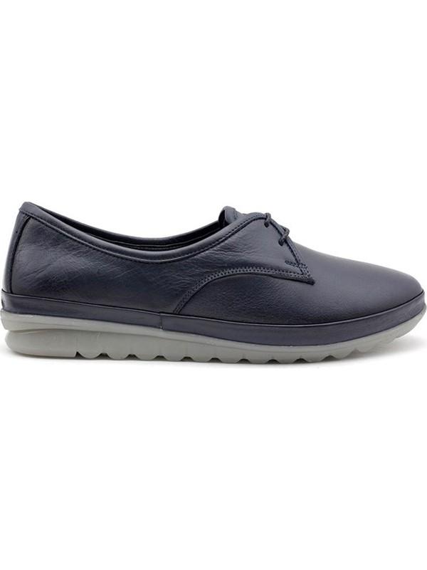 Evida 0116 Hakiki Deri Kadın Günlük Ayakkabı