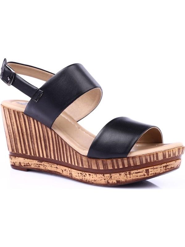 Venüs 1911603Y Kadın Sandalet Ayakkabı Siyah