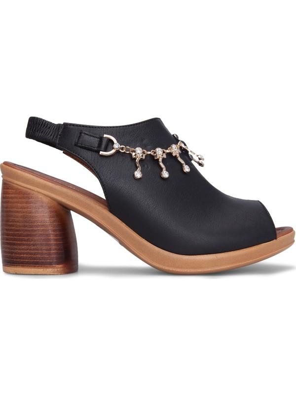 Pierre Cardin Topuklu Kadın Sandalet Pc6077