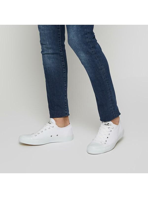 Polaris 91.355075.M Beyaz Erkek Sneaker Ayakkabı