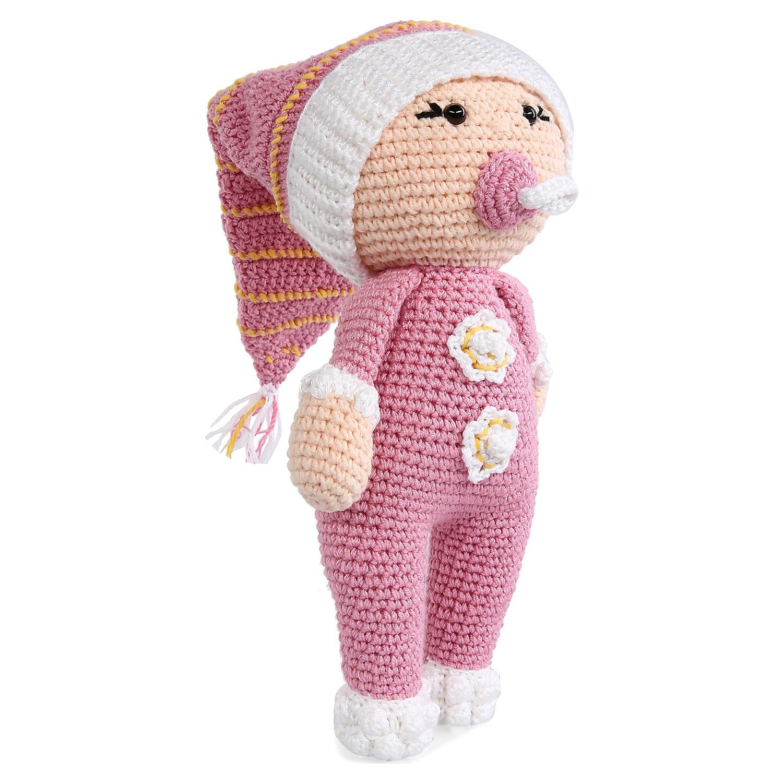 Amigurumi Organik Yıkanabilir El Örmesi Emzikli Bebek - n11.com | 1500x1500