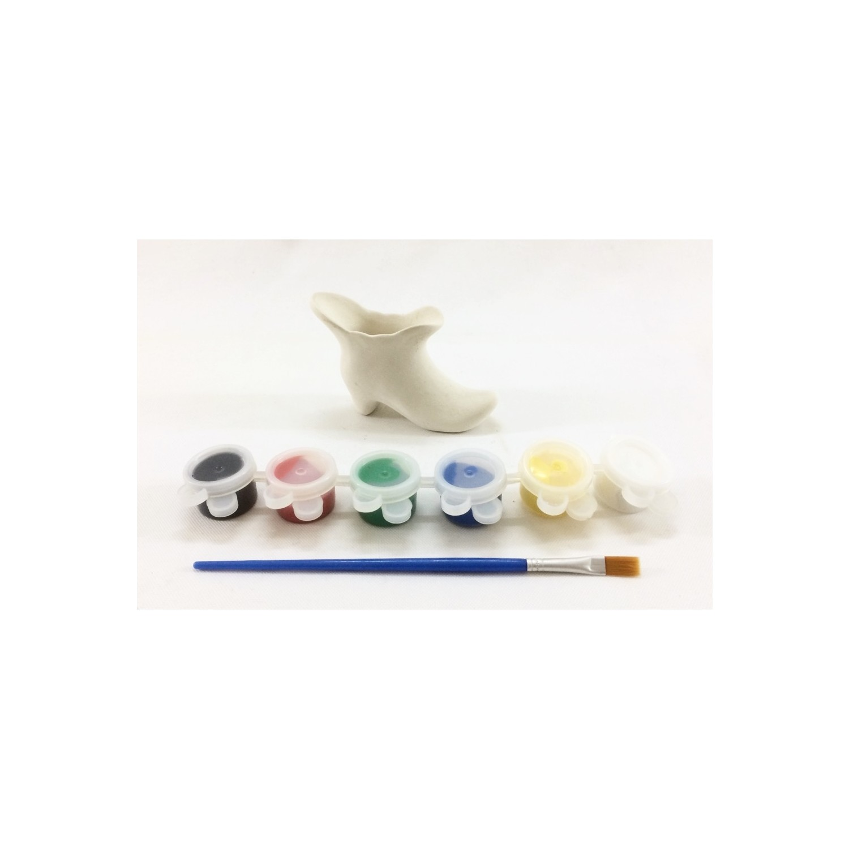 Joy And Toys Seramik Boyama Seti Mini Topuklu Cizme 6 5 X 8 Fiyati