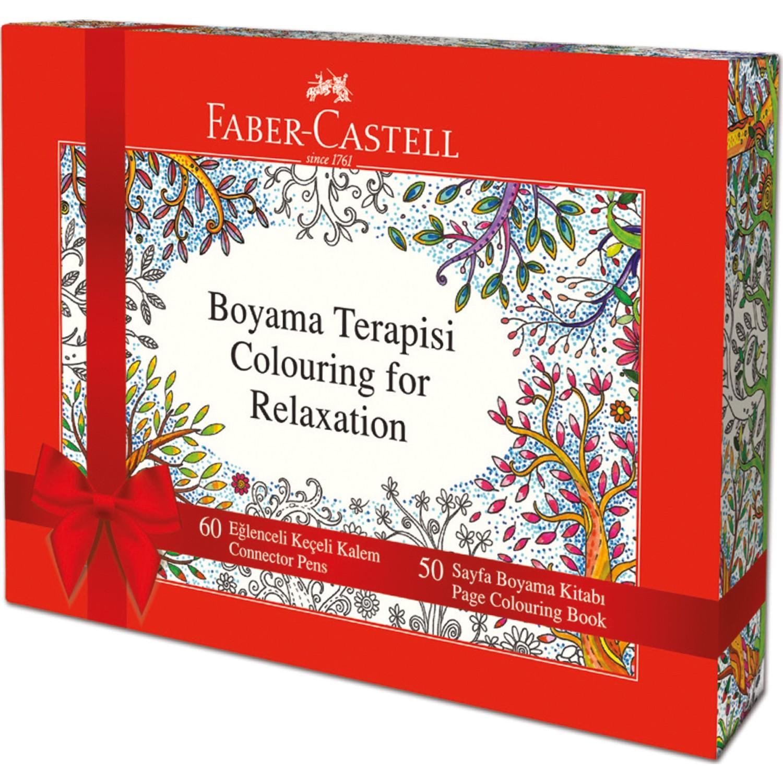 Faber Castell Boyama Kitap Hediyeli Eglenceli Keceli Boyama Fiyati