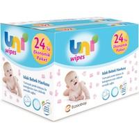 Uni Baby Wipes Islak Havlu 24'lü KAPAKLI 56x24 (1344 Yaprak)