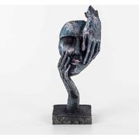 Piyop Mavi Görmedim Figürlü Mask Biblo 11 x 7 x 27 cm